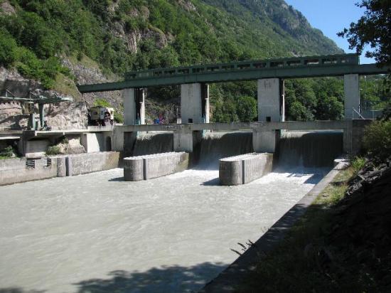 Barrage de Lavey