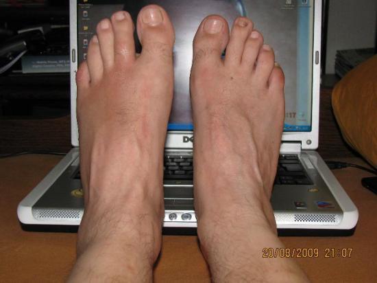 c'est pas le pieds...:(
