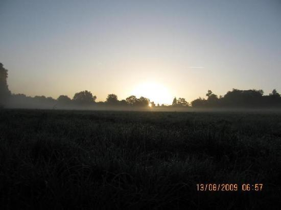 humide lever de soleil
