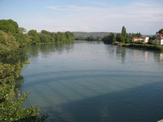 Rhône à Loyette